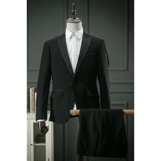 Áo vest đen sang trọng phong cách Châu Âu nam tính