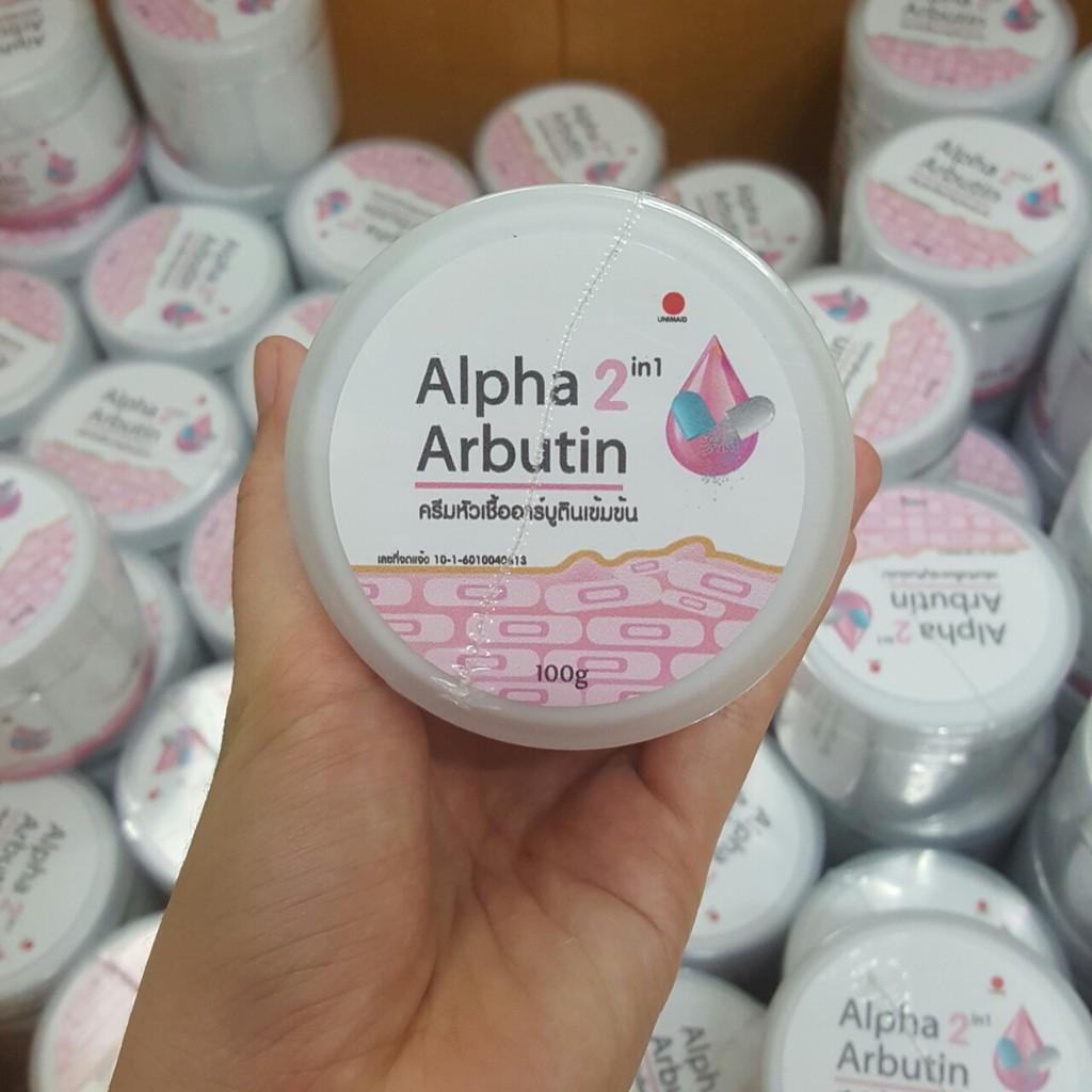 [BÁN SỈ] Kem dưỡng trắng da body Alpha Arbutin - Hàng Chuẩn Thái Lan