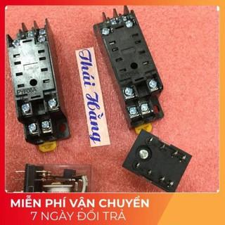 [FreeShip] 2 bộ relay 220 v -5 A-8 chân nhỏ [GiáTậnXưởng]
