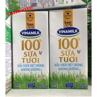 Sữa tươi Vinamilk hộp 1L