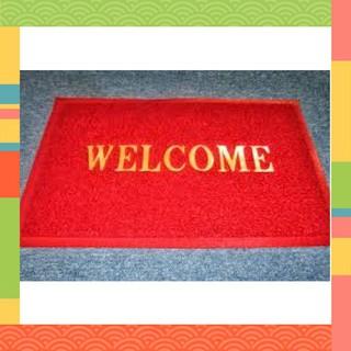Thảm Nhựa Welcome [Xả Kho] Chống Trơn Trượt Cao Cấp Welcome 120cm x150cm (Giao Màu Ngẫu Nhiên)