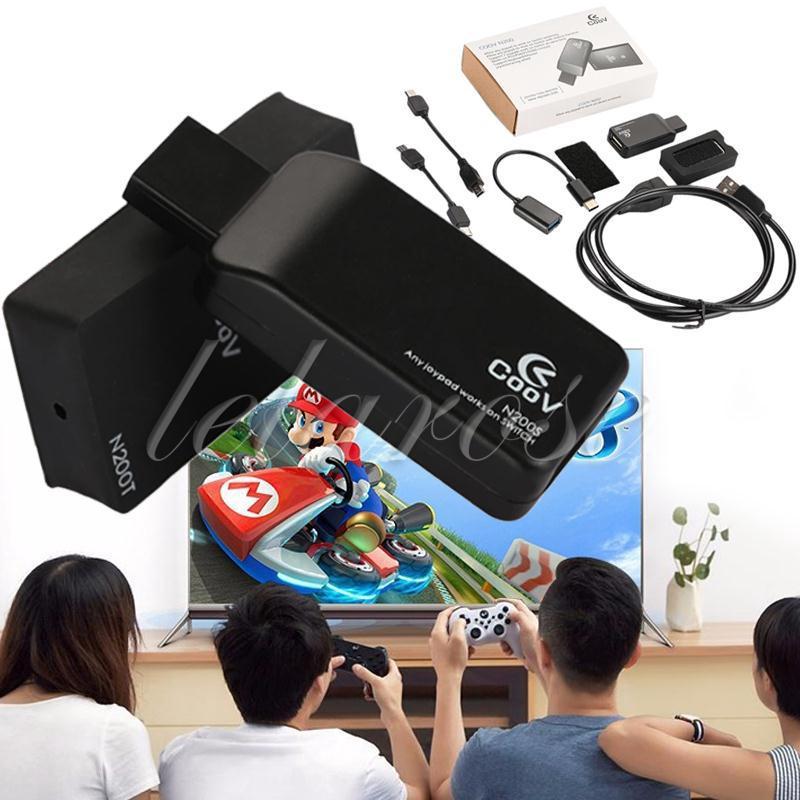 【New Arrival】 Xbox One Slim To Switch Joypad Converter Compact Black Joystick