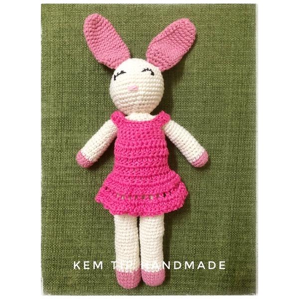 Thỏ bông len handmade cao cấp