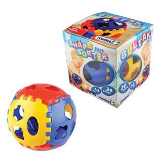 [Thổ Nhĩ Kỳ] Thả khối lắp ráp bóng đồ chơi nhựa an toàn cho bé từ 1 tuổi