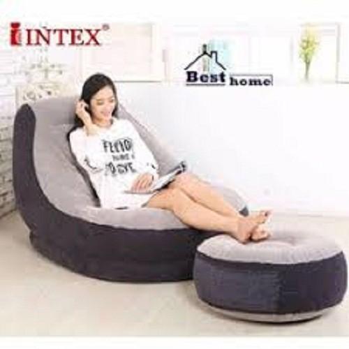 Ghế Hơi Tựa Lưng INTEX 2 chi tiết Chính Hãng
