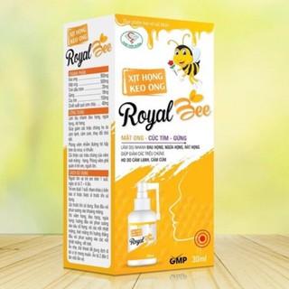 xịt họng keo ong royal bee