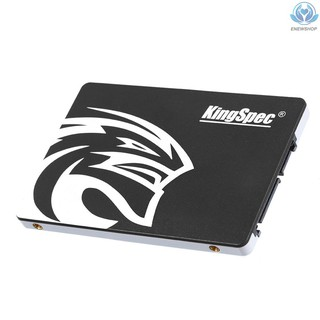 【enew】KingSpec P4-120 2.5 inch SATA3.0 Solid State Drive 120GB 4-channel High Speed Reading Writing SSD for Laptop Desktop Computer