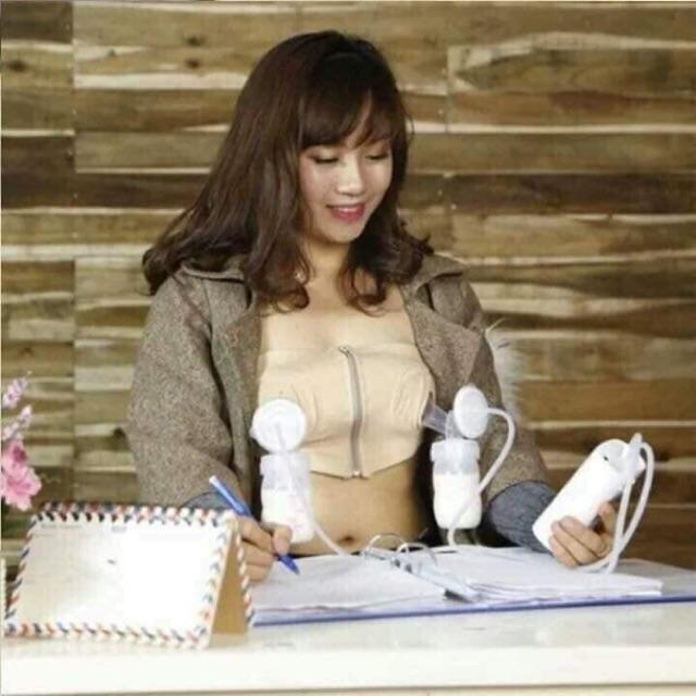Áo hút sữa rảnh tay không dây