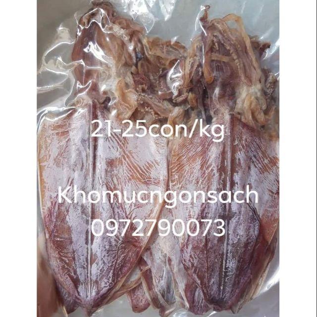 [Y hình] Combo 4-5 con khô mực ~ 200g size 21-25con/kg dày mình ngọt thịt trắngđẹp
