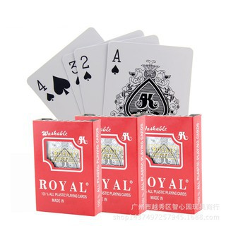 Bài nhựa Poker/ Tiến lên ROYAL plastic cao cấp