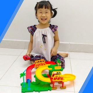Đồ chơi Việt Nam xe lửa chạy trên đường ray KLLT533-11