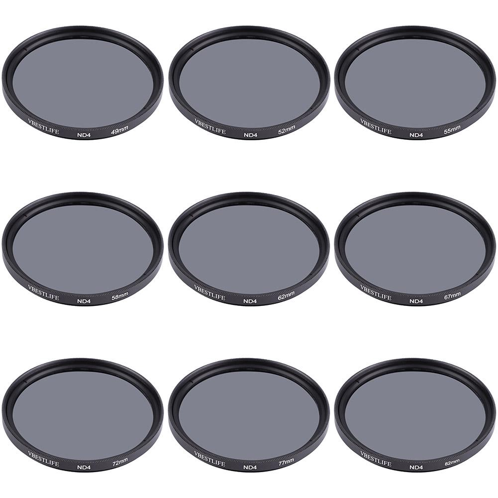 Universal Cameras ND4 VBESTLIFE DSLR Filter Density Camera Slim Neutral Ultra For