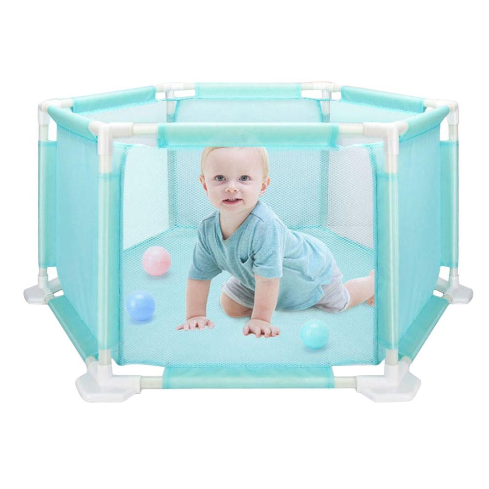 Children's Hexagonal Playard Toys Ocean Ball Pool Set For Babies Safe Crawling
