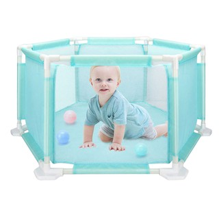 💞Children's Hexagonal Playard Toys Ocean Ball Pool Set For Babies Safe Crawling