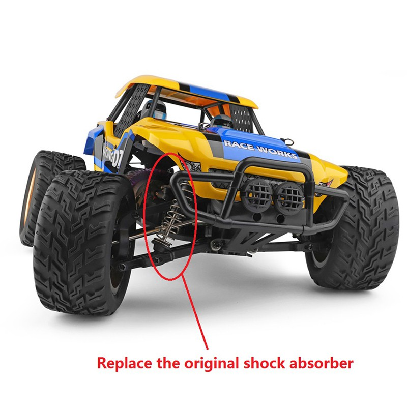 ☆In Stock Metal Oil Filled Front & Rear Shock Absorber Damper for Wltoys 12402-A A323 12409 1/12 RC Car Upgrade...
