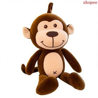 Monkey doll plush toy cute cute soft monkey pillow large children doll Korean gi