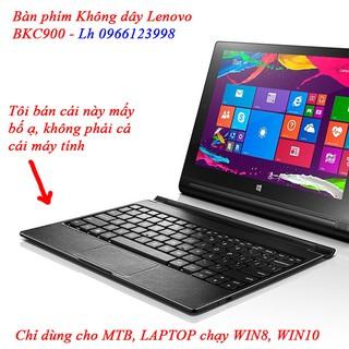 Bàn phím bluetooth không dây có bàn di chuột chính hãng Lenovo- Chỉ dùng cho laptop, tablet windows thumbnail