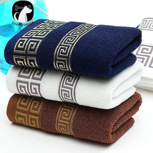 Khăn tắm chất liệu cotton siêu thấm nước in họa