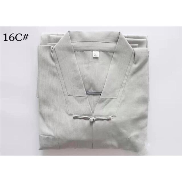 Bộ quần áo La Hán và áo trường sam 7 tà