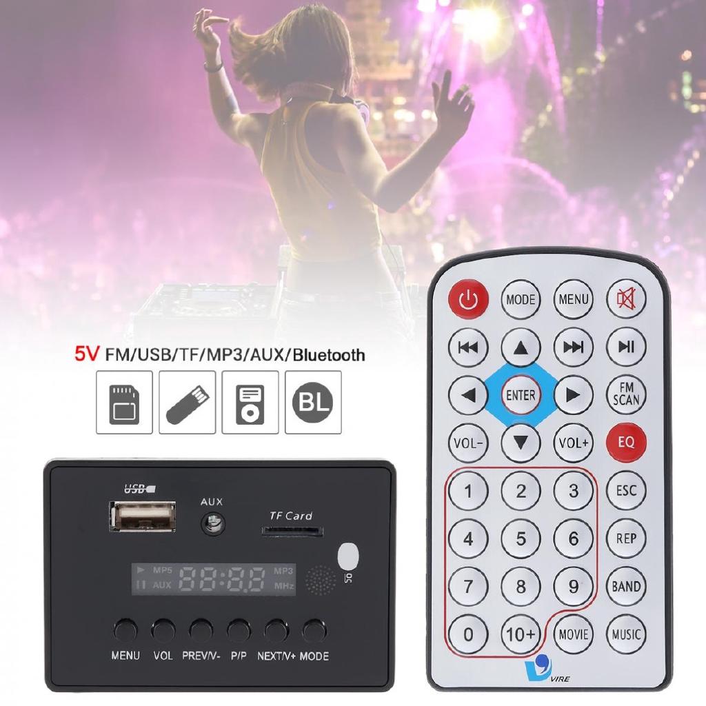 Máy Nghe Nhạc Mp3 5V Dts Kết Nối Bluetooth