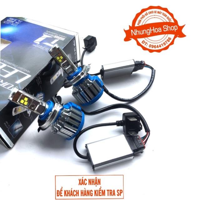 Đèn pha Led Turbo T1 40w siêu sáng