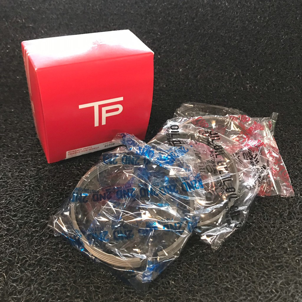 แหวนลูกสูบ TOYOTA 2KD,D4D VIGO 2500 ยี่ห้อ TP (เซตสี่สูบ) - แหวน