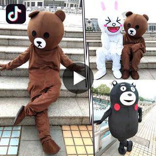 Trang phục hóa trang chú gấu hoạt hình đáng yêu
