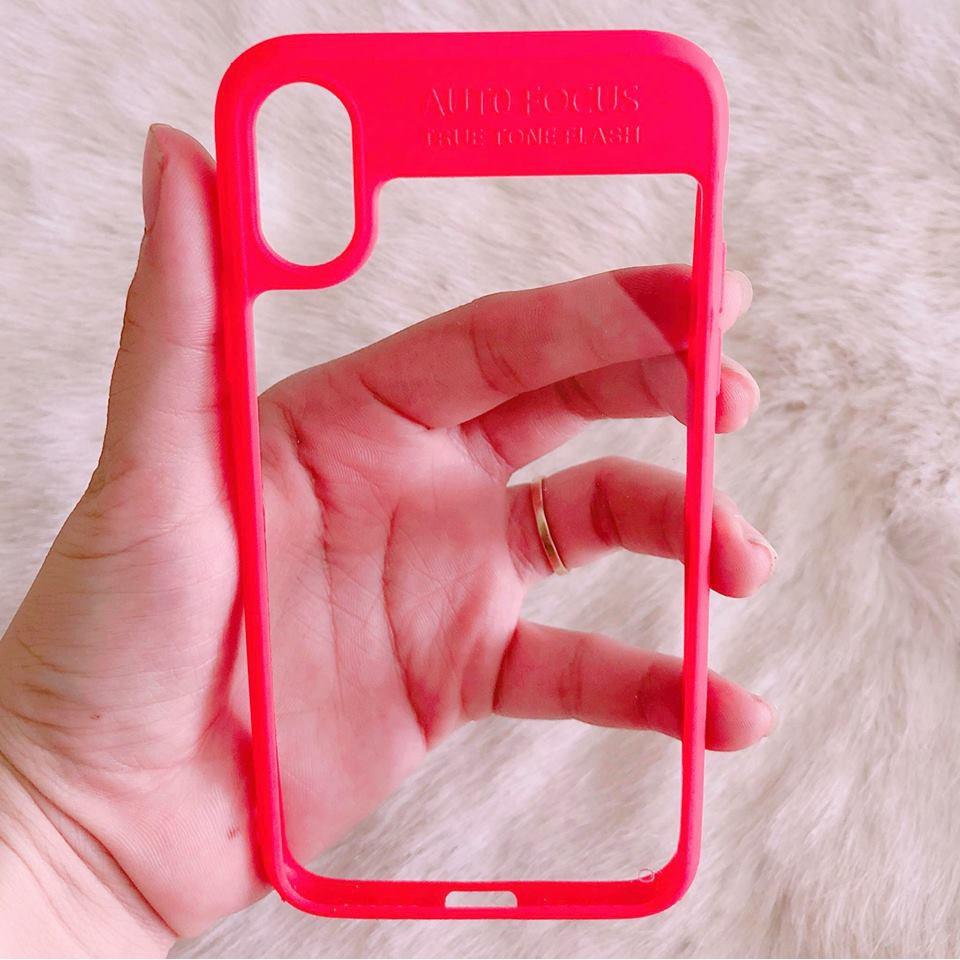 Ốp lưng iPhone X viền màu Auto Focus dẻo trong hot - 2990649 , 1258404473 , 322_1258404473 , 70000 , Op-lung-iPhone-X-vien-mau-Auto-Focus-deo-trong-hot-322_1258404473 , shopee.vn , Ốp lưng iPhone X viền màu Auto Focus dẻo trong hot