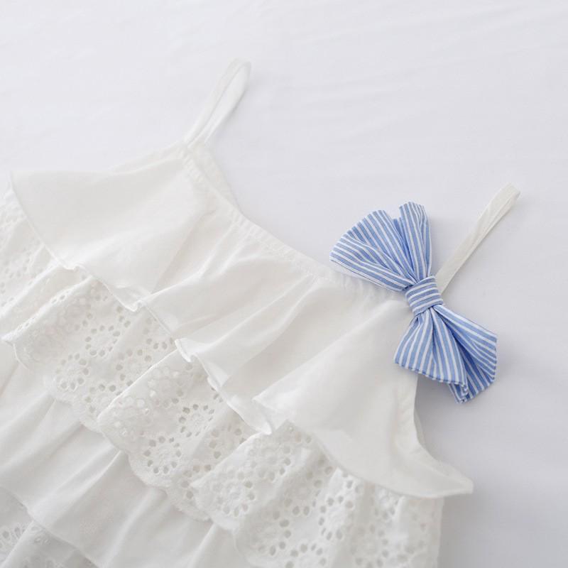 Bộ quần áo sọc mùa hè phong cách mùa hè cho bé 3-7 tuổi