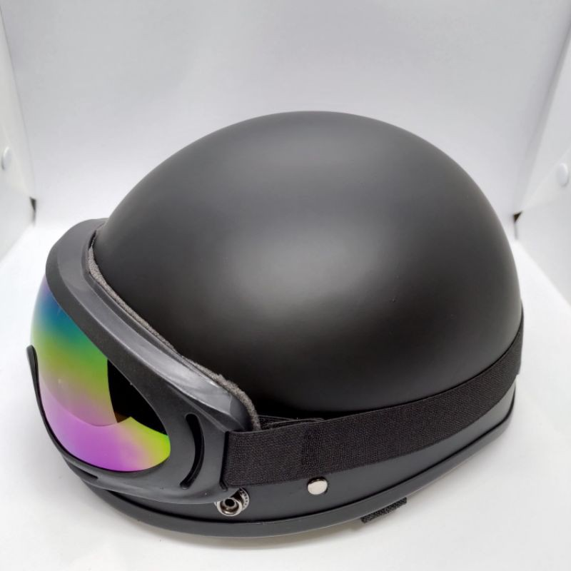 Mũ bảo hiểm 1/2 đầu, nón bảo hiểm nửa đầu, mũ phượt thời trang, an toàn, tiện dụng