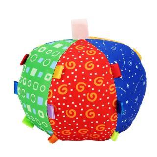 Sakurabc Ball hand ball plush ball irregular ball for baby child sensory toy with colors and sounds