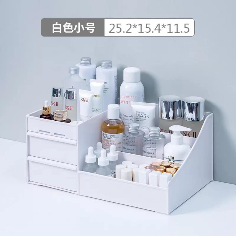 Kệ mỹ phẩm nhựa đa năng nhiều ngăn (Size to 30*19*15)