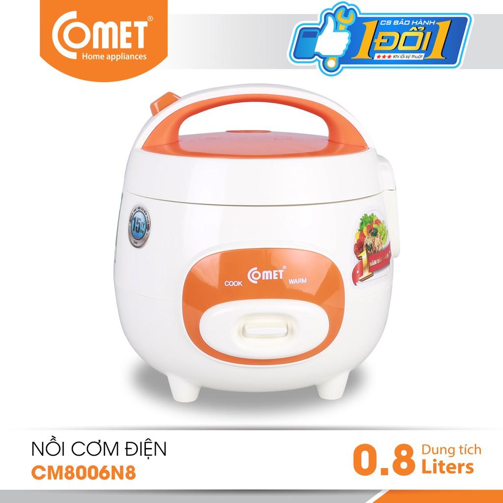 Nồi cơm điện mini nắp gài COMET CM8006