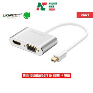 Cáp Mini DisplayPort To HDMI + VGA Ugreen (20421)
