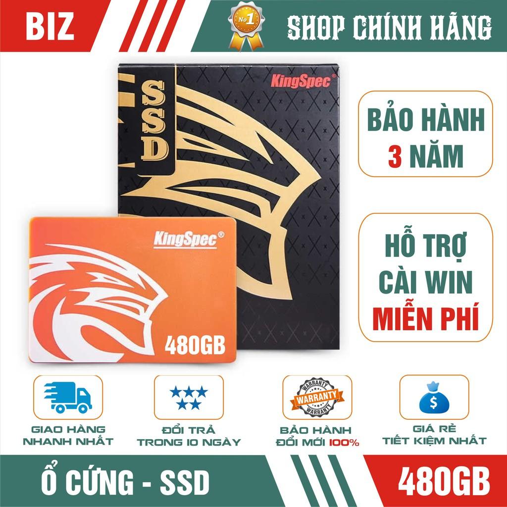Ổ cứng SSD 480GB KingSpec – Bảo hành chính hãng 36 tháng 1 đổi 1 Giá chỉ 1.099.000₫