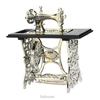 Doll House Handicraft Home Decor Vintage Sewing Machine Toy