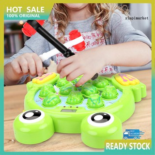 WJ_Children Interactive Whack A Frog Game Percussion Educational Toys Kids Gift