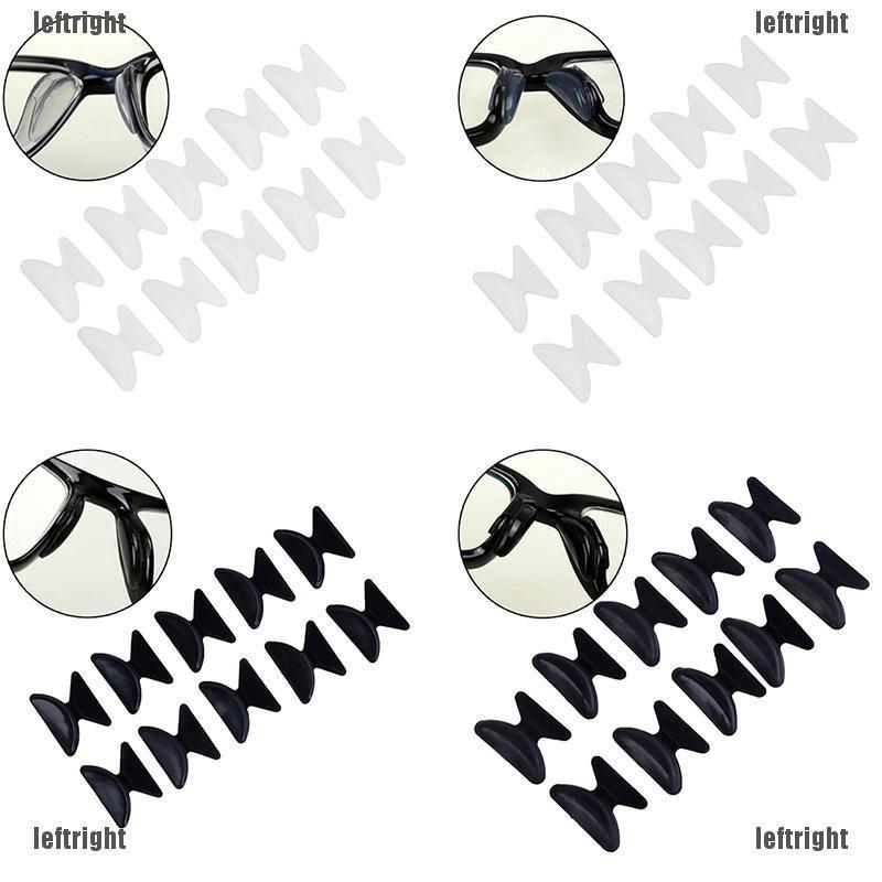 Bộ 10 miếng đệm mũi silicon chất lượng cao cho kính mát