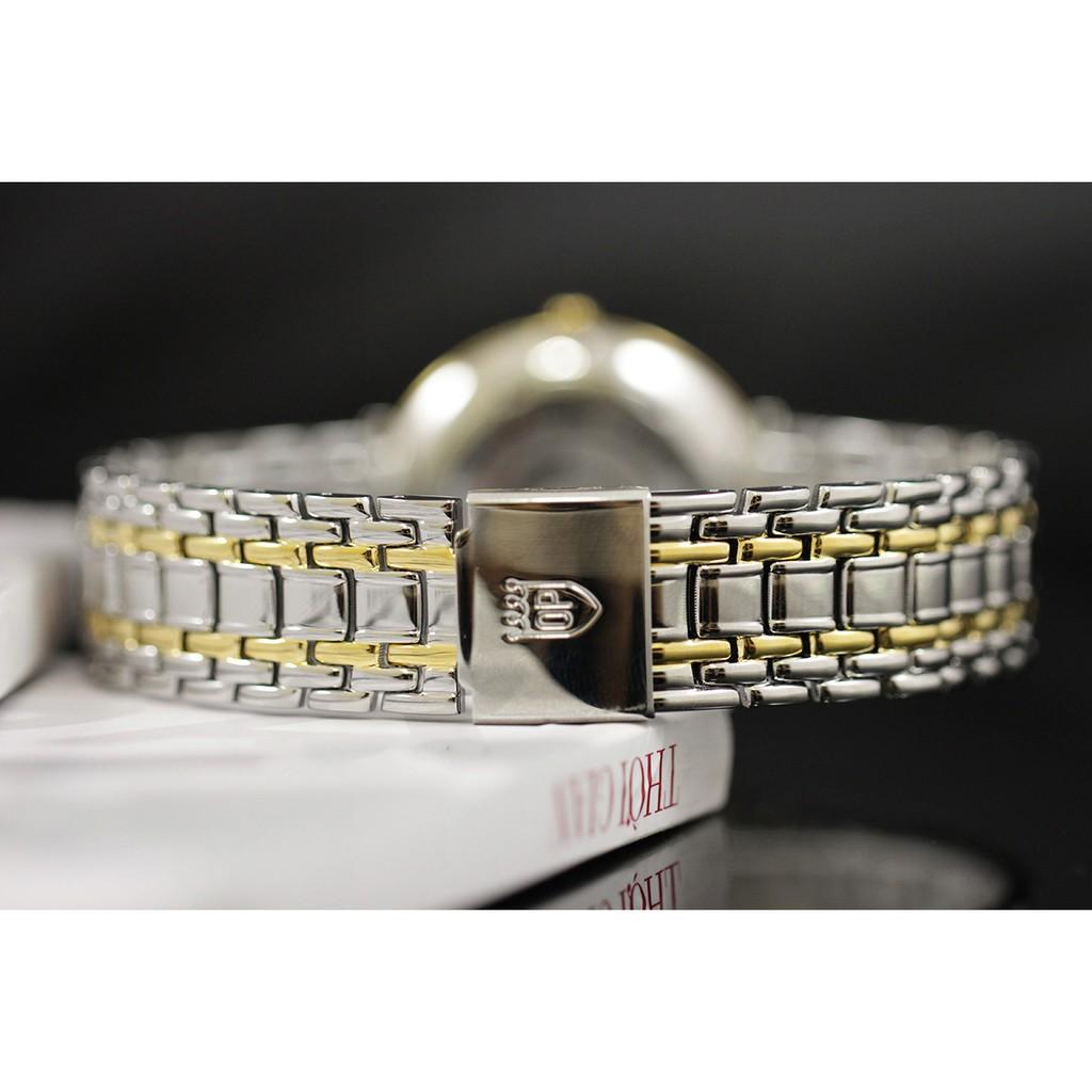 Đồng hồ nam dây kim loại Olym Pianus OP5657 OP5657MSK trắng