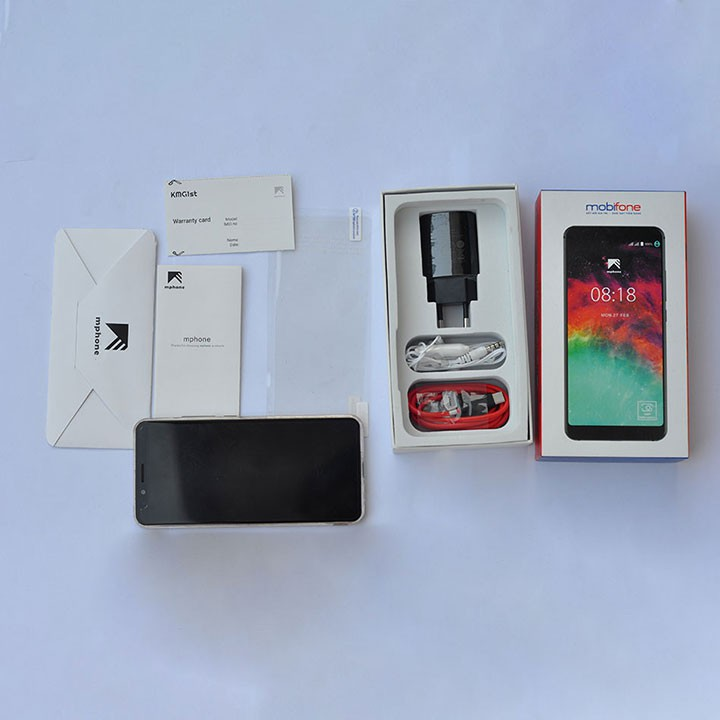 Điện thoại MPhone RAM 4GB ROM 32GB Pin 3800mah camera 13MP, 5MP, 8MP,có FaceID+vân tay