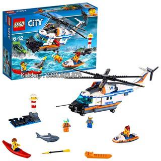 Bộ Lego Xếp Hình Ninjago Siêu Máy Bay Cứu Hộ. Có 448 Chi Tiết.