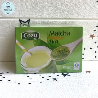 Trà sữa Cozy Matcha 3in1 (hộp 18 gói x 17g)