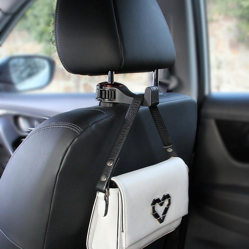 Giá đỡ kẹp điện thoại gắn ghế sau cho xe hơi xe ô tô xoay góc 360 độ