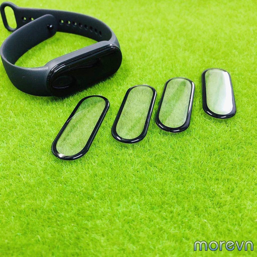 Miếng dán miband 5, miband 4 3D full màn viền đen dán dẻo full màn mi band 4,5