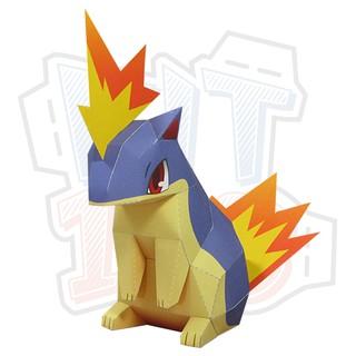 Mô hình giấy Pokemon Quilava