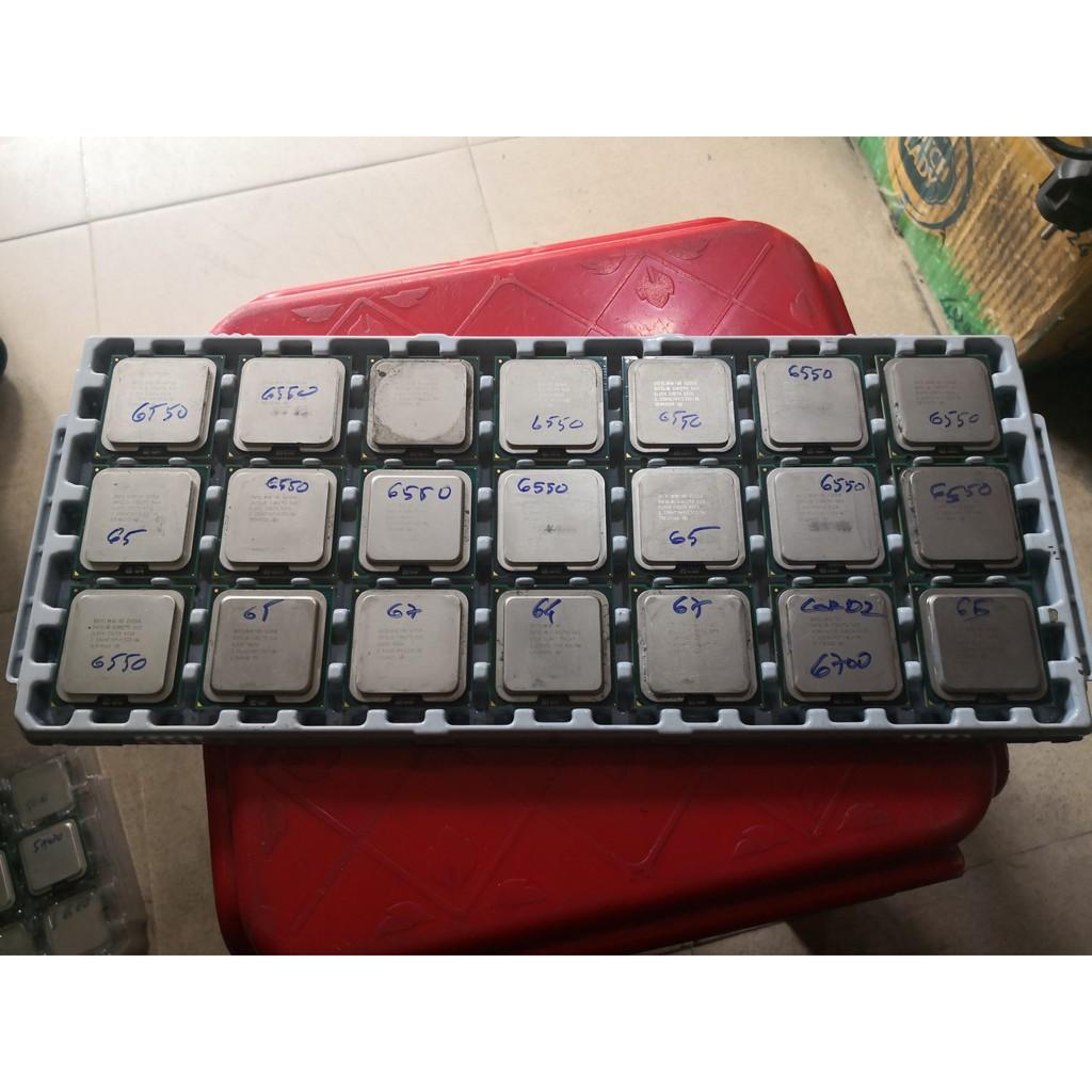 CPU socket 775 Intel Core 2 Duo E6550/E6750