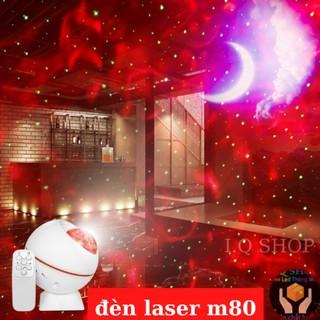 [FullBox] Đèn Laser Phòng Bay Mini M80 Cảm Biến Theo Nhạc Trang Trí Sân Khấu