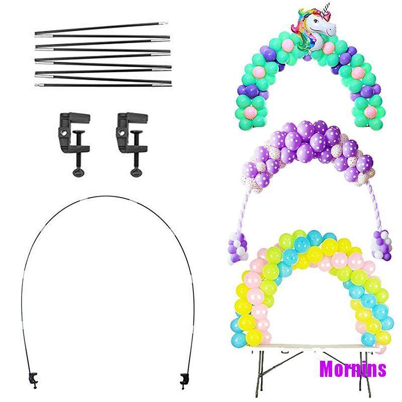 Mornin☪1Set Balloons Holder Column Stand Party Balloon Chain Table Balloon Arch Kits