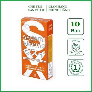 [Chính hãng] Bao Cao Su Siêu mỏng ôm sát cao cấp Sagami Xtreme Orange - Nhật Bản (Hộp thumbnail