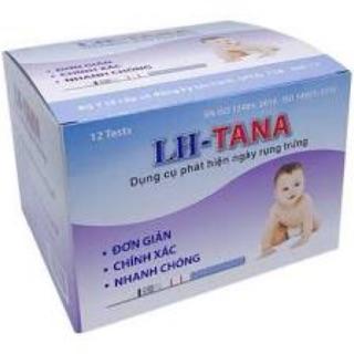 Hộp 12 que thử rụng trứng LH Tana